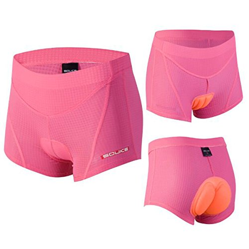 Eco-daily Women's 4D Padded Breathable Bicycle Cycling Underwear Shorts - Cycling Seamless Shorts