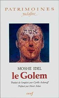 Le Golem par Moché Idel
