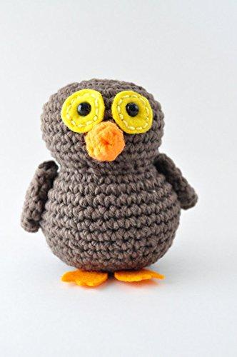 DIY Beginner Crochet Kit (Owl) by The Pudgy Rabbit (Image #3)