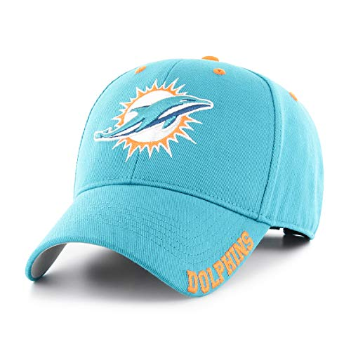 OTS NFL Miami Dolphins Male Blight All-Star Adjustable Hat, Neptune, One Size
