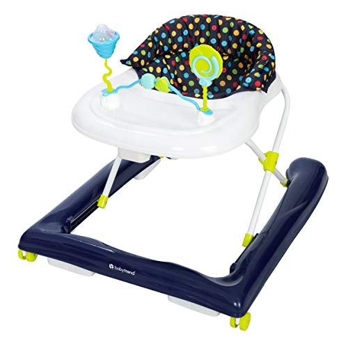 Baby Trend Trend 2.0 Activity Walker, Blue Sprinkles, Blue (Best Baby Walker For 1 Year Old)