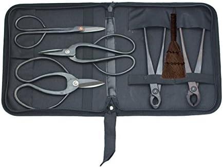 6 pièces pour tailler Bonsaï outils avec étui