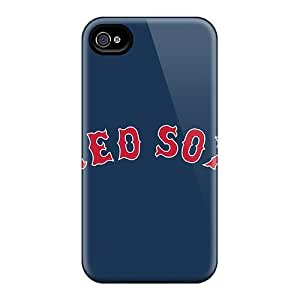 Anti-scratch And Shatterproof Baseball Boston Red Sox 4 Phone Case For Iphone 6 plus/ High Quality Tpu Case