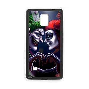 Samsung Galaxy Note 4 phone case Black Harley Quinn AAPU8016267