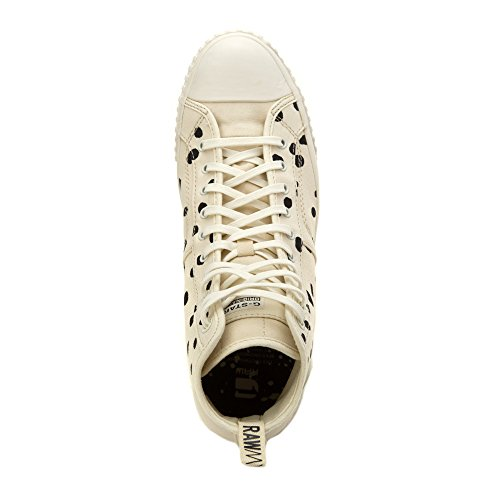 G Star Mens Falton Twill Mode Sneaker Blanc