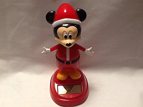 Christmas Mickey Solar Character, Mickey Dancer Bobble -
