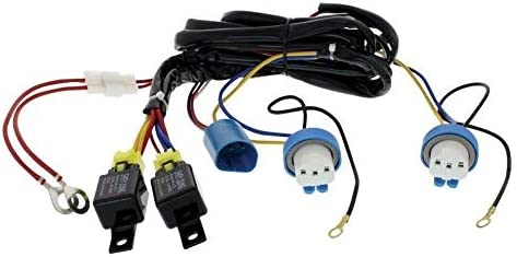 Peachy Amazon Com United Pacific Upi 34265 9007 Headlight Relay Harness Wiring Cloud Hisonuggs Outletorg