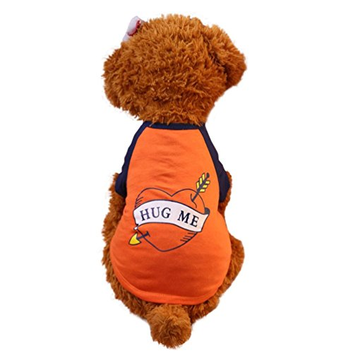 Price comparison product image Hot Sale ! Exclusive Summer Hug Me Pet Puppy Blouse, Ninasill New Fashion Small Dog Cat Pet Vest Shirt Apparel Clothes (M)