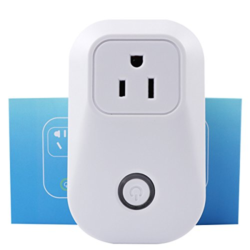 Price comparison product image Sonoff S20 Wifi Wireless RemoteTimer Power Smart Plug for Home Automation Via IOS Android Smartphone APP Compatible with Alexa