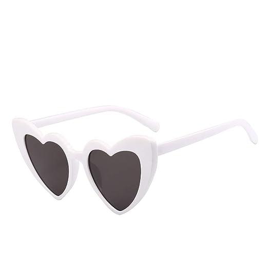 Yangjing-hl Moda Amor Gafas de Sol Gafas de Sol Mujer ...