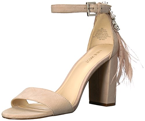 Nine Suede Natural West Suede Sandal Aaronita Women's rxC7rwqSY