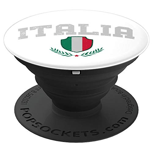 Perfect Italia Flag Design Great Italy vacation Gift PopSockets Grip and Stand for Phones and Tablets