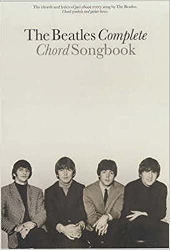 Amazon The Beatles Complete Chord Songbook Beatles Livres