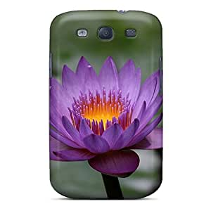 Anti-scratch And Shatterproof Purple Perfection Phone Case For Galaxy S3/ High Quality Tpu Case