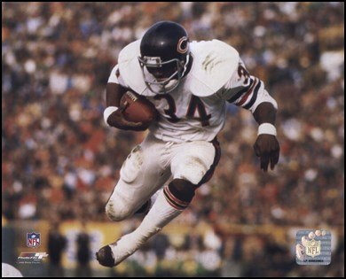 Walter Payton - Airbound Art Poster Print Unknown