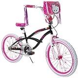 Hello Kitty 8108-60TJ Girls Bike, 20-Inch, Black/Pink/White