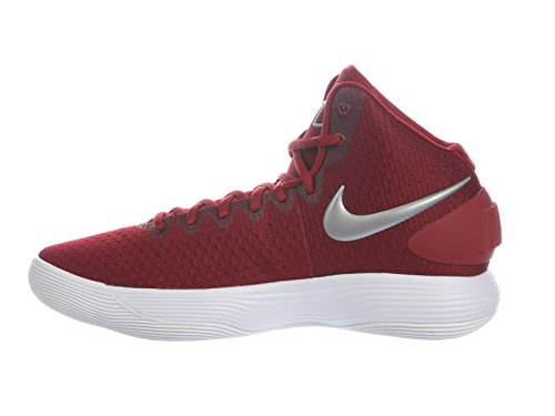 Running Red React US Team 5 Shoes Nylon Silver Nike Men's 12 D Hyperdunk 2017 Metallic White xX1vCUq5