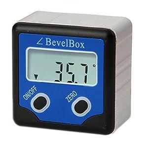 digital bevel box gauge angle protractor. Black Bedroom Furniture Sets. Home Design Ideas