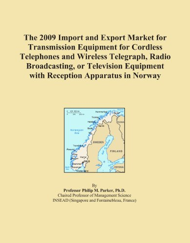 The 2009 Import and Export Market for Transmission Equipment for Cordless Telephones and Wireless Telegraph, Radio Broadcasting, or Television Equipment with Reception Apparatus in Norway