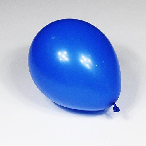RoMote 100pcs/lot 10inch hélium/latex Ballon Ballons gonflable pour faire allusion Annonce de mariage Anniversaire(bleu)
