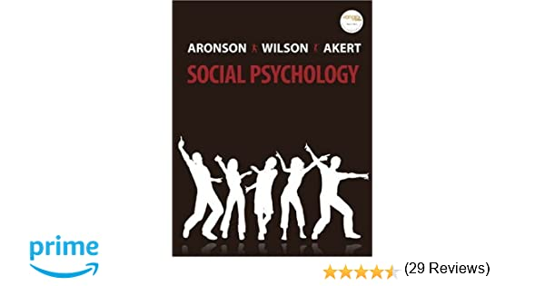 Amazon social psychology 6th edition 9780132382458 elliot amazon social psychology 6th edition 9780132382458 elliot aronson timothy d wilson robin m akert books fandeluxe Choice Image