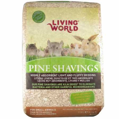Living World Pine Shavings, 2-Cubic (Living Natural Pine Bedding)