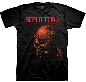 Sepultura - Beneath The Remains Mens T-Shirt In Black, Size: Large, Color: Black