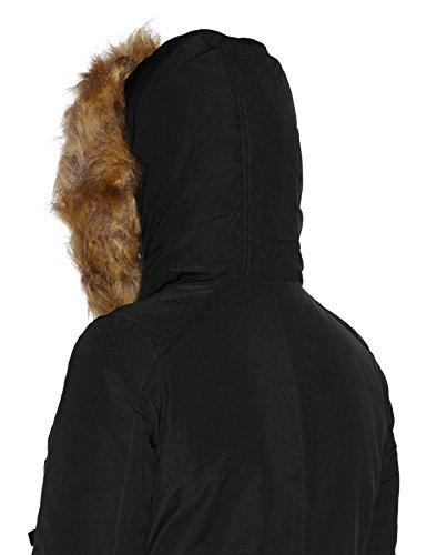Donna Nero Del lavaggio Zoheke Delle Ltb Jeans Schwarz 200 Rivestimento Cappotto YqBxZx