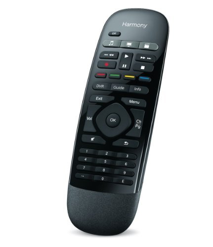 Logitech 915-000194 - Harmony Smart Remote Control with Smartphone App - Black (Renewed) ()