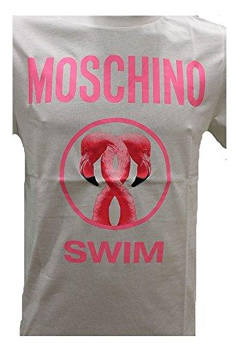 Moschino Herren T-Shirt weiß Bianco