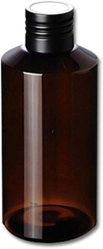 RIsxffp Envases cosméticos vacíos de 150 ml Maquillaje plástico Botellas de Almacenamiento sellables rellenables Brown