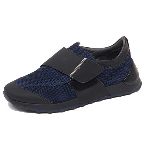 Sneaker F4270 Slip Blu Blu Effect Guardiani Tissue nero On Vintage Shoe Uomo Man black 44rqFw