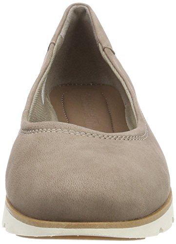 Women's Closed Florence 929 Grey Air Grey Luscious Ballet Toe Taupe Timberland Flats AdqtA