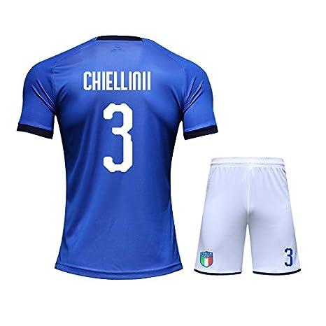 mqtwer 2018 Camiseta De Fútbol Italia 19 Casa De Fútbol Traje, M, 3 Casa De Italia: Amazon.es: Deportes y aire libre