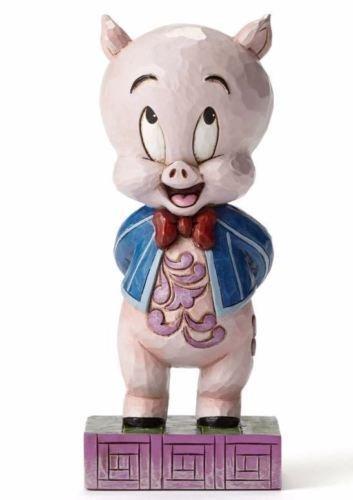 Jim Shore Looney Tunes Its P-P-P-Porky Porky Pig Standing Figurine 4049385 New