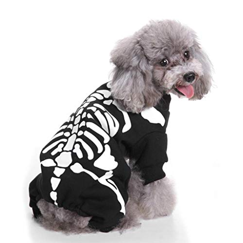 DEESEE(TM)) Dogs Cats Cool Cute Pet Cosplay Costume Dog Pet Costume Clothing (L)