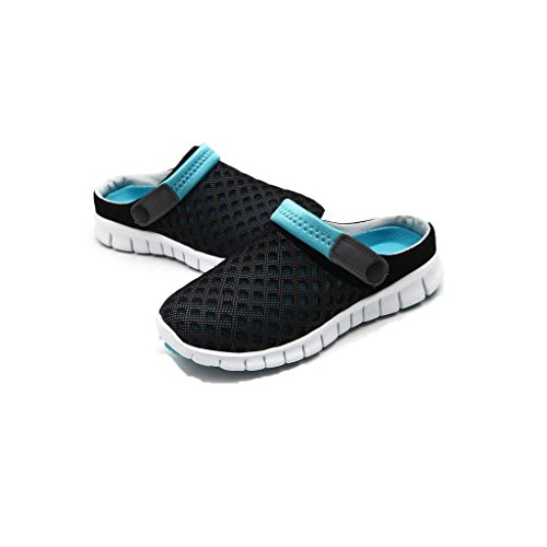 Shoes Breathable Flat Women Black Slippers Summer Couples Flops Unisex Mesh Fashion Beach Blue Sandals Heel Flip Highdas Men qIwzFH0