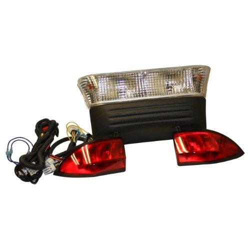 EZGO Pro-Fit PF10909 Basic Light Bar Kit with Bumper for Precedent Golf Carts ()