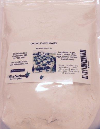 Lemon Curd Powder 16 oz by OliveNation - Tart Lemon Mini