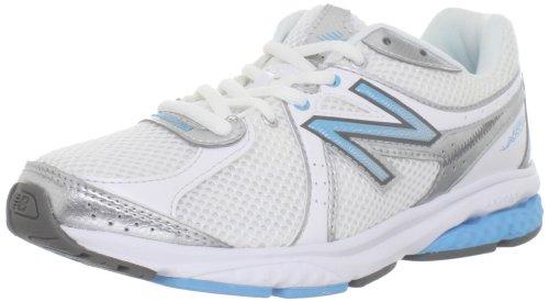 UPC 602850351358, New Balance Women's WW665WB Fitness Walking Shoe,White/Blue,7 B US