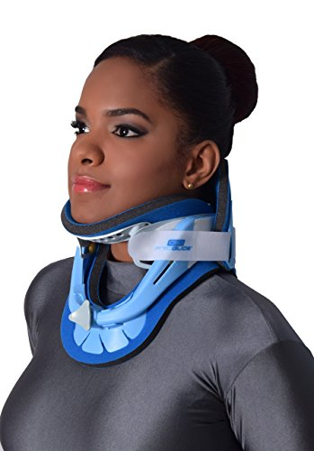 PROGLIDE Adjustable Rigid Cervical Collar for Neck Support, Neck Pain Relief, and Stabilization to Aid in Recovery after Neck Surgery or Injury - PG172 (Support Rigid)