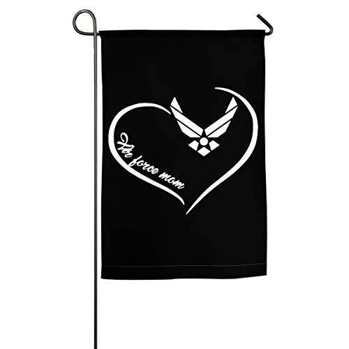 Air Force Mom Yard Flag Patio Garden Flags Outdoor Banner 12x18 Inches ()