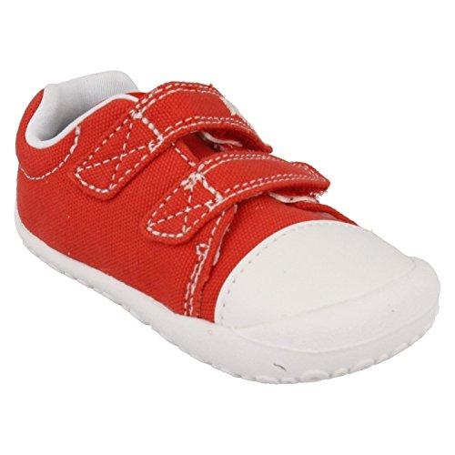 Clarks Baby Jungen Little Chap Krabbel-& Hausschuhe Rot