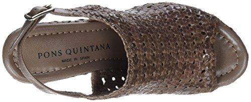 Pons Quintana Damen 6913.000 Slingback Sandalen Degree (steen U831)