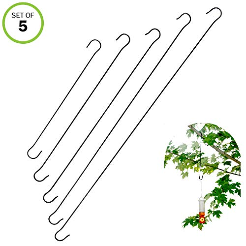 Evelots Outdoor Hanging Hooks-Metal-Up to 24.8