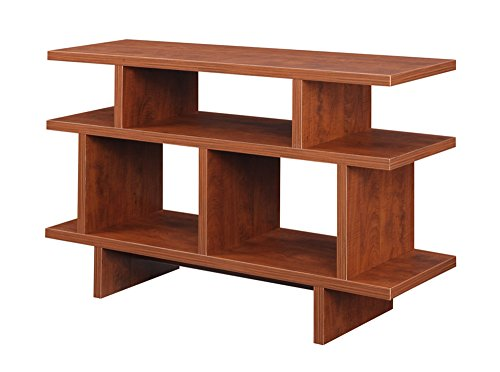 Convenience Concepts Designs2Go Key West TV Stand Console, 48-Inch, Cherry - Cherry Media Center