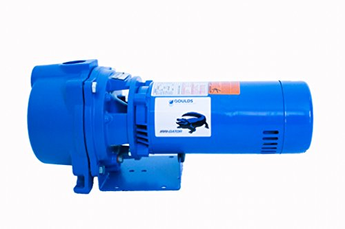 GOULDS PUMPS GT15 IRRI-GATOR Self-Priming Single Phase Centrifugal Pump, 1.5 hp, Blue - Lawn Sprinkler Pump