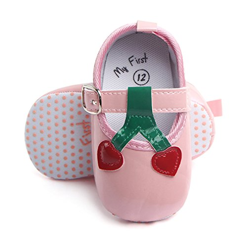 14k Slipper (Newborn Footwear Infant Loafers Toddler Slippers House Gear For Child Kid Gift Pink 13-18 Months)