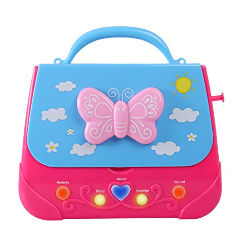 XSHION Karaoke Machine for Girl,Children Portable Musical Bag Karaoke Machine Toys with Microphone Karaoke Player Connect MP3 Smartphone - Butterfly by XSHION (Image #8)