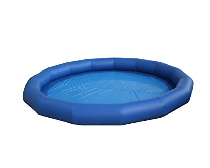 Amazon.com: JYNselling 4/5/6m Outdoor Inflatable Pool Round ...